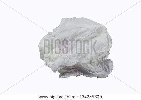 Wet paper is placed on a black background