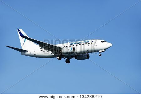Airbus Airline Blue Air In The Skies