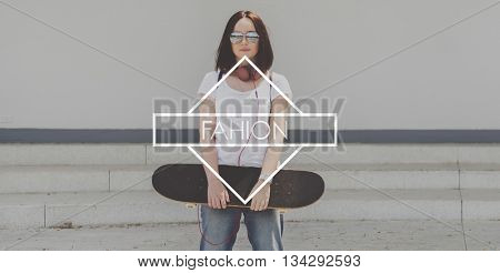 Fashion Hip Indie Trendy Lifestyle Concept