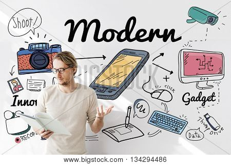 Modern Trend Latest Fashion Trendy Concept