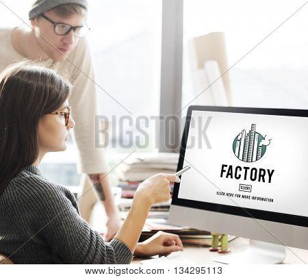 Factory Built Structure Organization Industrial Concept