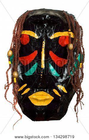 African black tribal mask - primitive art