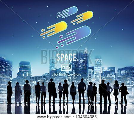 Space Astronomy Exploration Nebular Concept