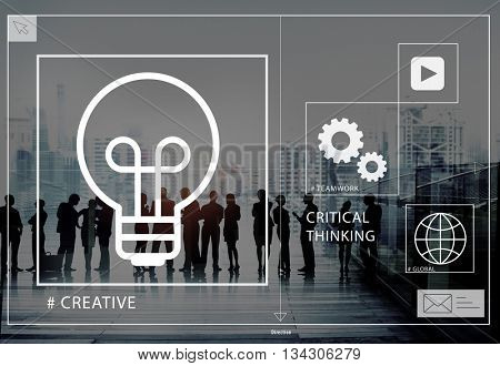 Ideas Creative Creativity Critical Thinking Innovation Concept