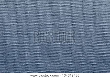 textural interlacing from of threads fabric of pale blue color for textile background or for grid wallpaper
