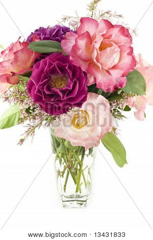 Bouquet Of Spring Roses