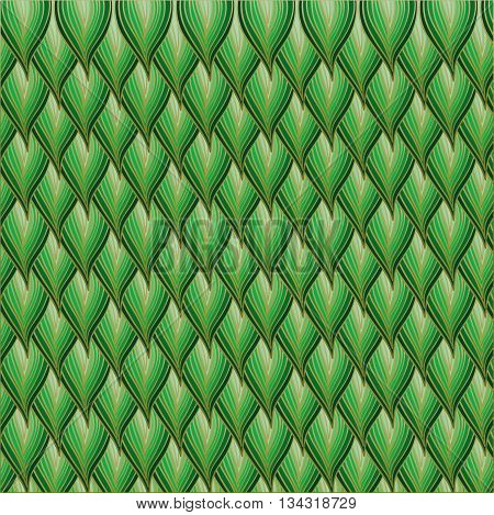 Floral green abstract background. Illustration 10 version