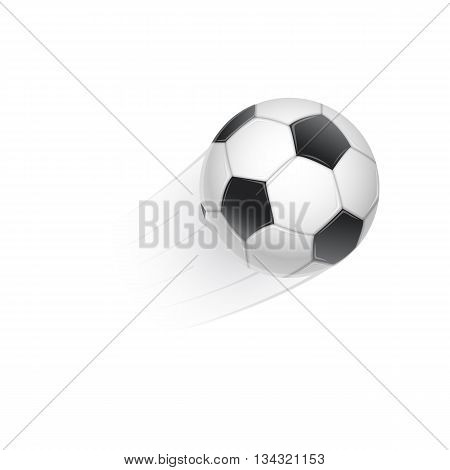 Realistic vector illustration of football. Easy to edit.