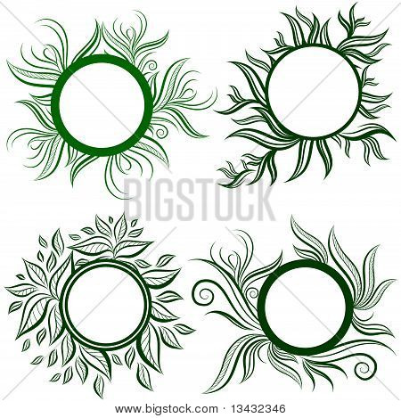 Vector set of leafs frames