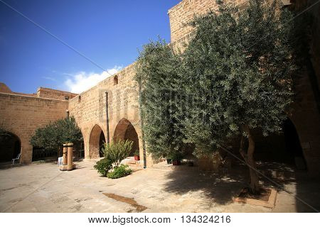 Deyrulzafaran Assyrian Monastery in Mardin, East Turkey.