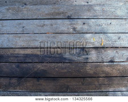 Wooden backdrop of parallel planks of wood forming a surface