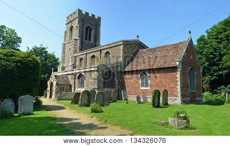 All Saints Parish Church Offord Cluny Cambridgeshire