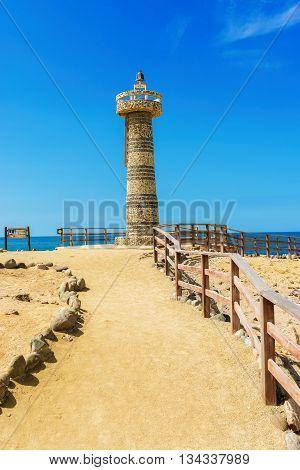 The Lighthouse In Salinas, Ecuador