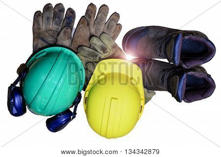 Security functions in the refinery. Always wear safety equipment and personal protective equipment.