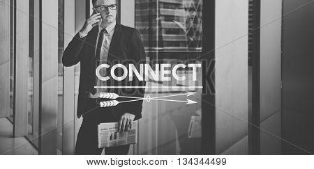 Communicate Conversation Connection Socialize People Concept