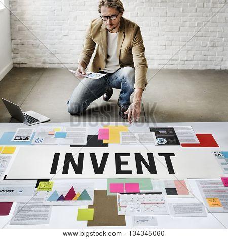 Invent Archive Supply Merchandise Assets Storage Concept