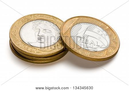 Brazilian One Real Coins
