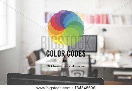 CMYK RGB Colour Colors cheme Creativity Concept