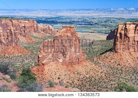 Monument Canyon At Colorado National Monument Near Grand Junction, Colorado,  Usa