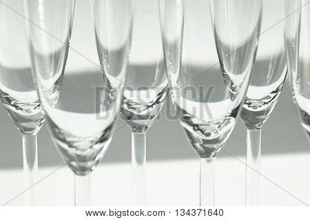 empty flutes