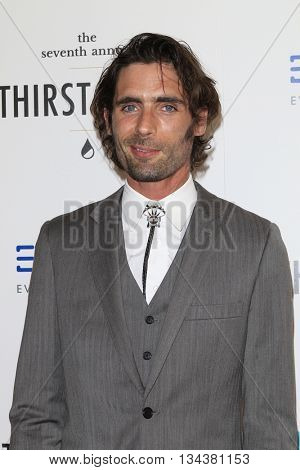 LOS ANGELES - JUN 13:  Tyson Ritter at the 7th Annual Thirst Gala at the Beverly Hilton Hotel on June 13, 2016 in Beverly Hills, CA