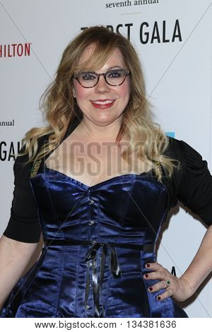 LOS ANGELES - JUN 13:  Kirsten Vangsness at the 7th Annual Thirst Gala at the Beverly Hilton Hotel on June 13, 2016 in Beverly Hills, CA