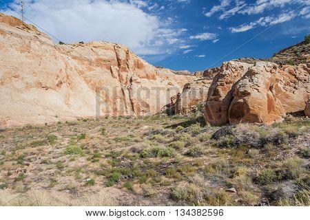 Rocks At Capitol Reef National Park, Utah,  Usa