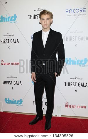 LOS ANGELES - JUN 13:  Aidan Alexander at the 7th Annual Thirst Gala at the Beverly Hilton Hotel on June 13, 2016 in Beverly Hills, CA