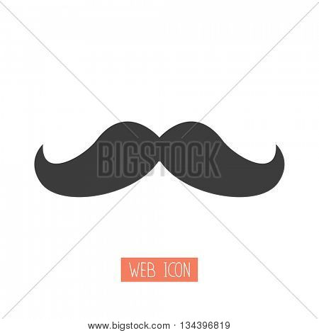 mustaches - vector icon