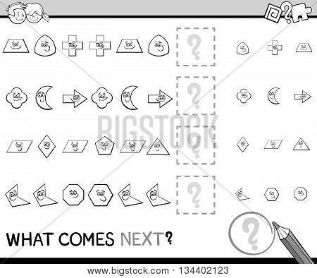 Preschool Pattern Task For Kids
