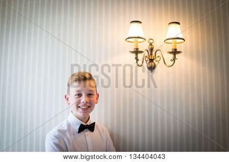 Retro potrait of a boy