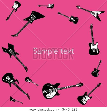 Guitar Music Concert Poster and Layout Template