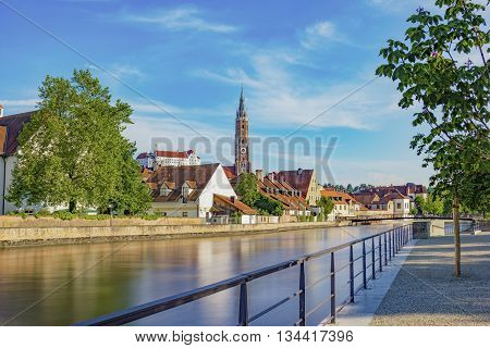 Still picture of Landshut Germany in Bavaria