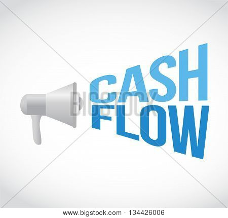 Cash Flow Megaphone Message