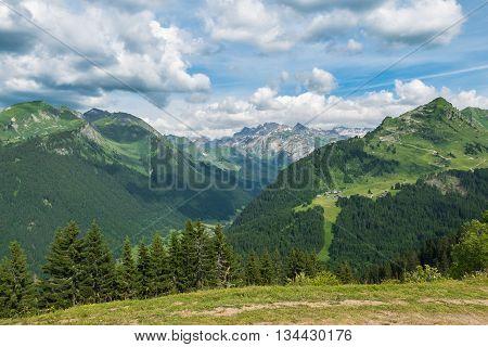 French Summer Alps, Morzine