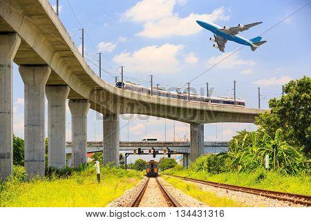 Various Transportation In Bangkok