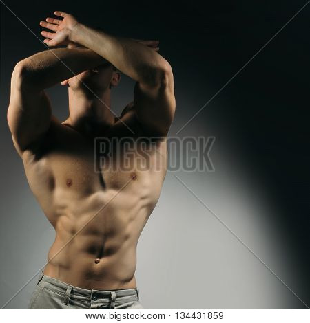 Muscular Man With Sexy Body