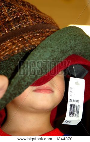 Hat Shopping Tag