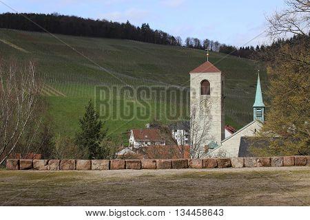 St. Michael Church In Neuweier, Baden-wurttemberg, Germany