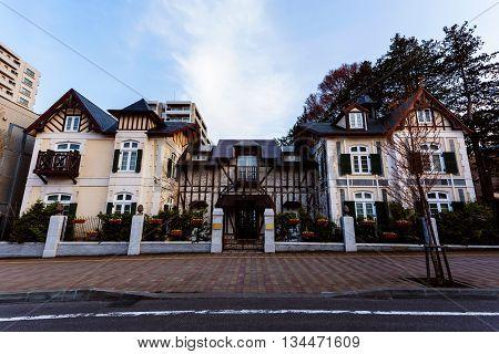 Luxury Europe House In Sapporo