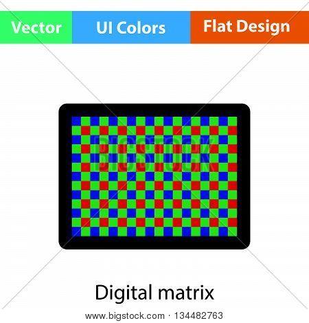 Icon Of Photo  Camera Sensor