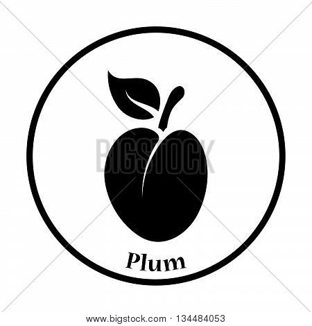 Icon Of Plum