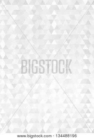 white and gray background with texture - vector illustration