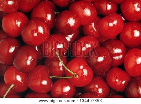 texture of cherries