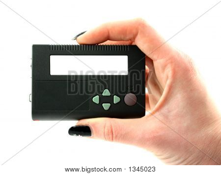 Holding Pager