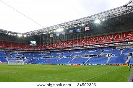 Uefa Euro 2016: Stade De Lyon, France