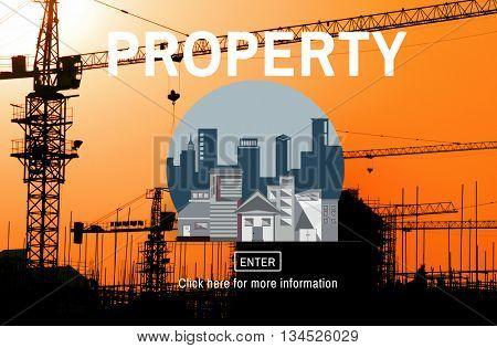 Property Buildings Architecture Structure House Concept