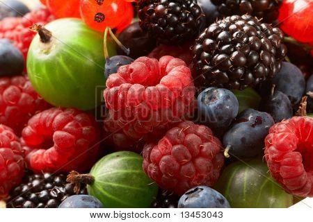 Fruit mix, berry