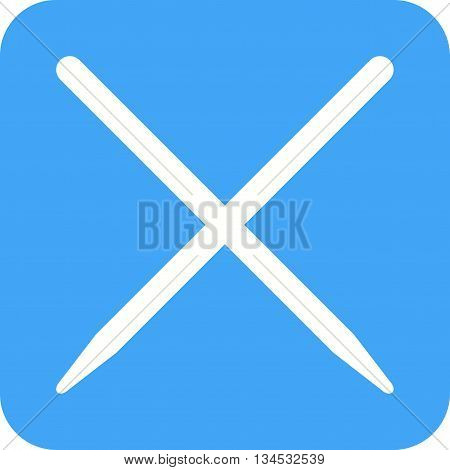 Chopsticks, food, chinese icon vector image. Can also be used for kitchen. Suitable for use on web apps, mobile apps and print media.