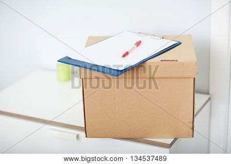 Box with order